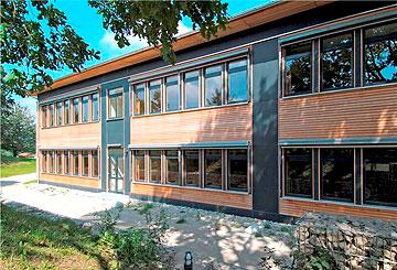 Gymnasium Freising - Gebäudetechnik Heizung Sanitär Klimatechnik Lüftungstechnik Rohrleitungsbau