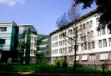 Klinikgebäude Zittau - Gebäudetechnik Heizung Sanitär Klimatechnik Lüftungstechnik Rohrleitungsbau