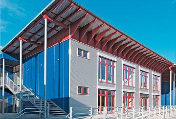 Gymnasium Nürnberg - Gebäudetechnik Heizung Sanitär Klimatechnik Lüftungstechnik Rohrleitungsbau